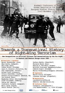 "Zum Artikel ""Fachtagung Geschichte ""Towards a Transnational History of Right-Wing Terrorism"""""